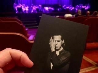 Checked in at Brighton Dome. An evening with Nick Cave — with Jessica