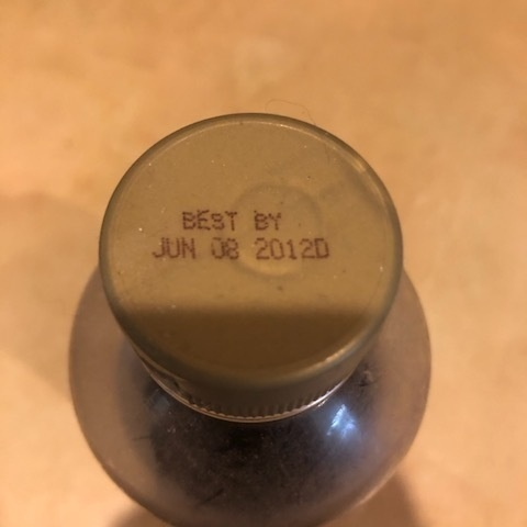 decade-old expired corn syrup